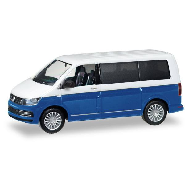 038730-002 - Herpa - VW T6 Multivan Bicolor, weiß/starlight blue metallic