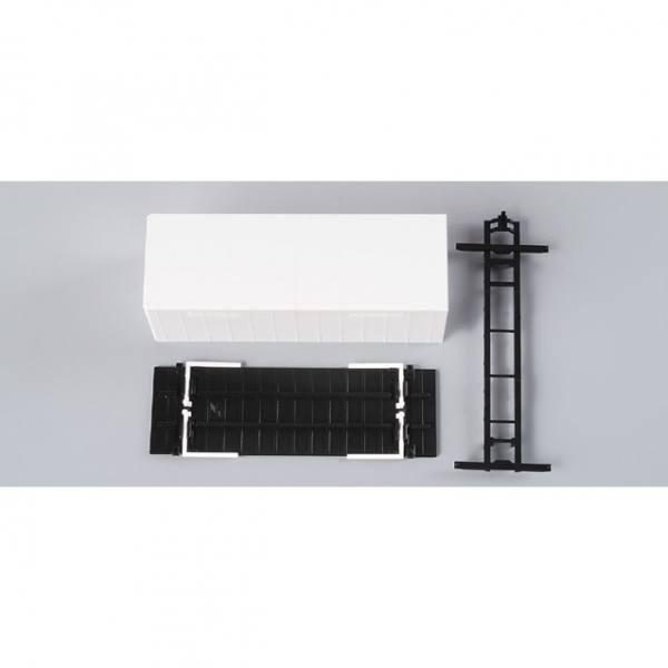 081153 - Herpa - TS Wechsel-Gardinenplane mit Grundplatte (7,45m), Inhalt: 2 Stück