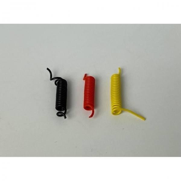 81294 - Tekno Parts - Elektrokabel + Luftschläuche - schwarz, gelb, rot - Set -