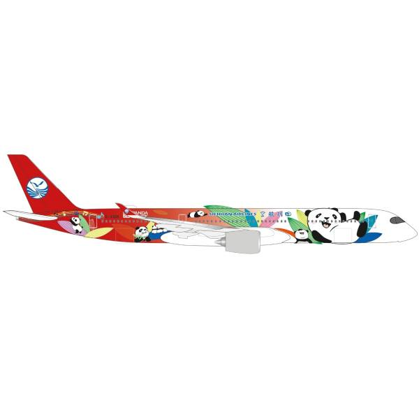 """534499 - Herpa - Sichuan Airlines Airbus A350-900 """"Panda Route"""""""