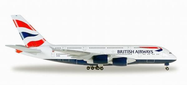 """524391 - Herpa - British Airways Airbus A380 """"G-XLEA"""""""