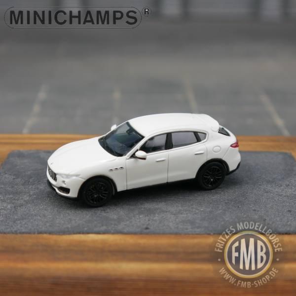 123202 - Minichamps - Maserati Levante (2018), weiß