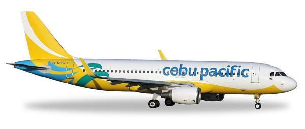 529327 - Herpa - Cebu Pacific  Airbus A320 (new colors 2016) - 1:500