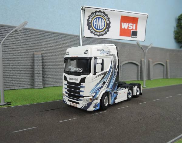 01-2169 - WSI - Scania S HL (NEW) 3achs  Zugmaschine - K.Lindholm  Co. - FIN -