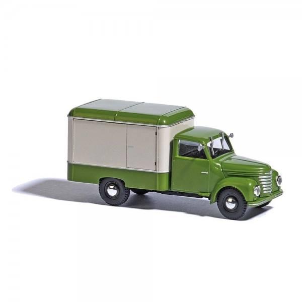 52000 - Busch - Framo V901/2 Kofferwagen, grün