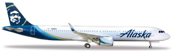 531894 - Herpa - Alaska Airlines  Airbus A321neo - 1:500