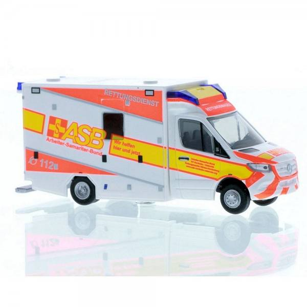 "76226 - Rietze - Mercedes-Benz Sprinter `18 - GSF RTW ""ASB Northeim / Osterode"""