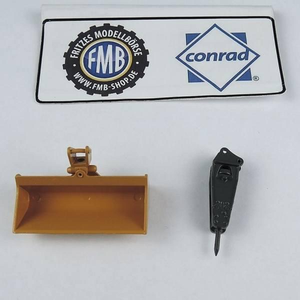 41695 - Conrad - Schaufel und Bohrhammer für R924 Tunnelbagger