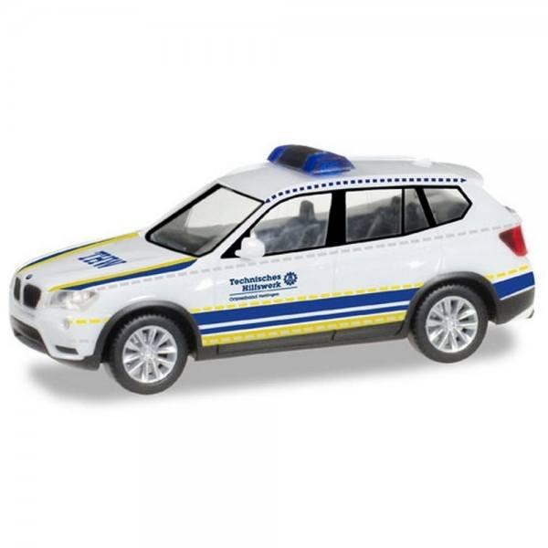"""093330 - Herpa - BMW X3 - PKW Ortsverband """"THW Hattingen"""""""