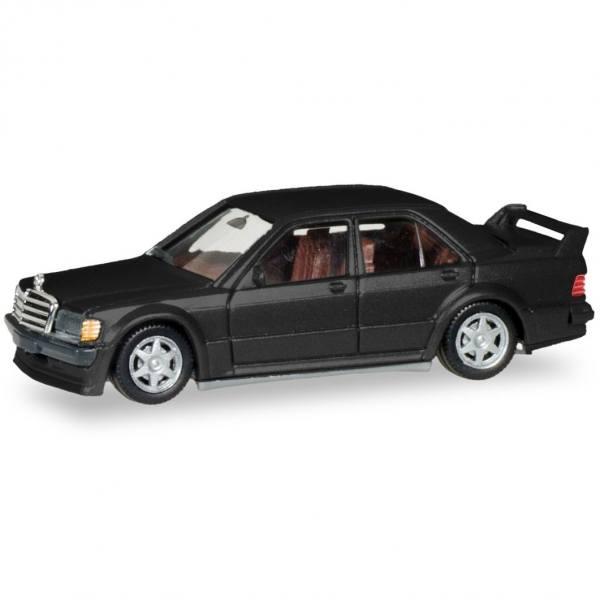 430654 - Herpa - Mercedes-Benz 190E 2,3 16V, schwarzmetallic