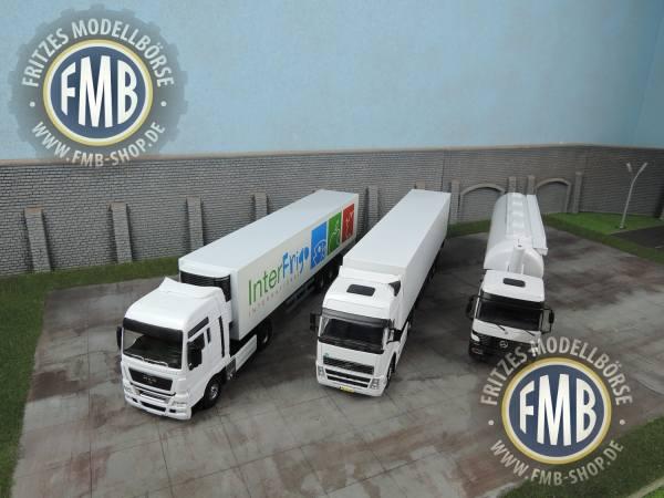 SON16 - 3 LKW Modelle - MAN, Volvo, MB - ohne OVP und gebraucht!