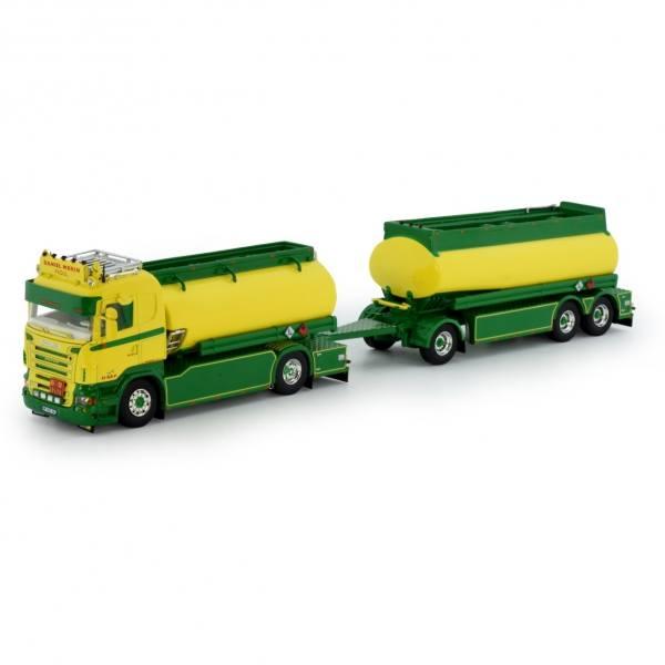 75307 - Tekno - Scania R-serie mit 3achs Tankanhänger - Daniel Morin - F -