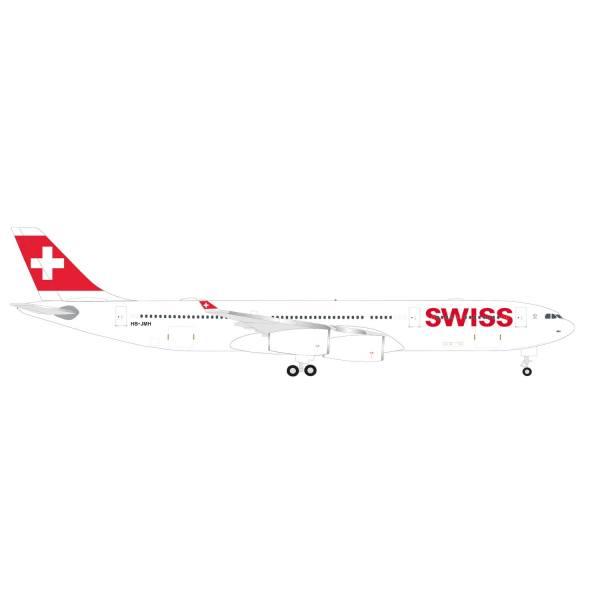 "524971-001 - Herpa Wings - Swiss Int. Air Lines Airbus A340-300 ""Chur"""