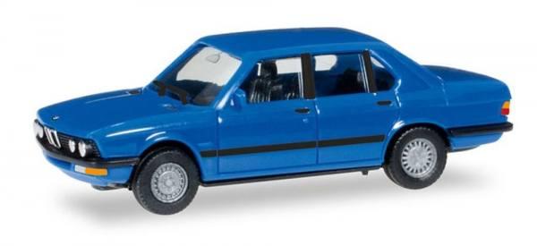 """028653 - Herpa - BMW 528i (E28) """"hellblau"""""""