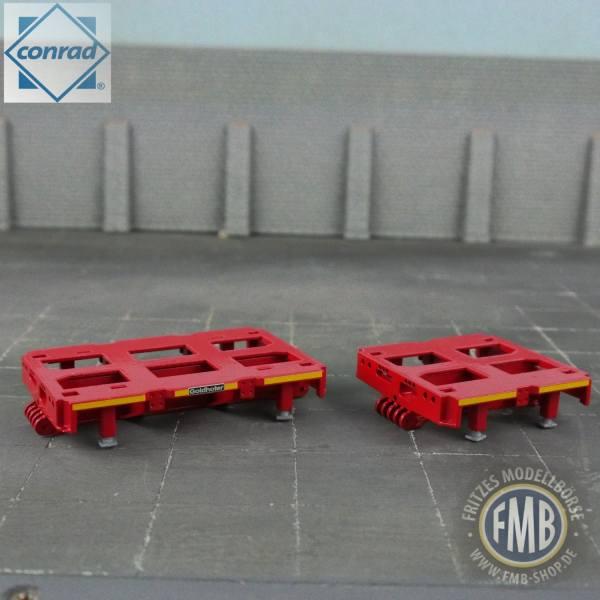 98021/01 - Conrad - Goldhofer Hochbett 2achs + 3achs - rot