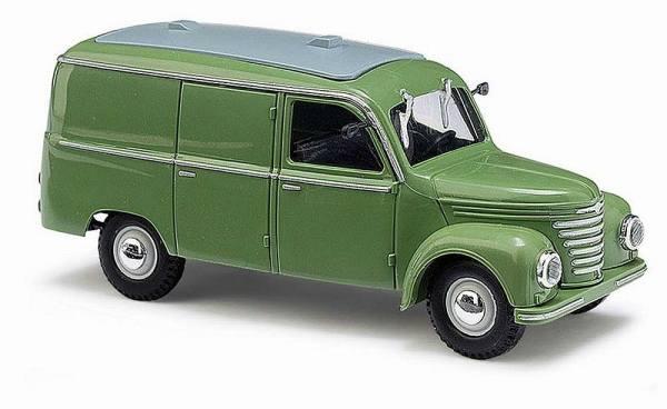 51201 - Busch - Framo V901/2 Kastenwagen grün (Baujahr 1954) DDR