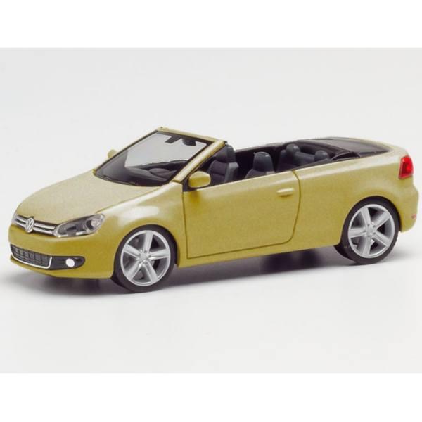 034869-002 - Herpa - VW Golf Cabrio, sweet data gold metallic