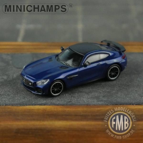 037221 - Minichamps - Mercedes-Benz AMG GT-R (2017), blau metallic