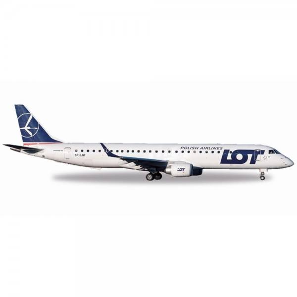 530576 - Herpa - LOT Polish Airlines Embraer E195 - 1:500