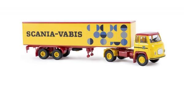 85150 - Brekina - Scania LB 76 Koffer-Sattelzug -Scania Vabis-