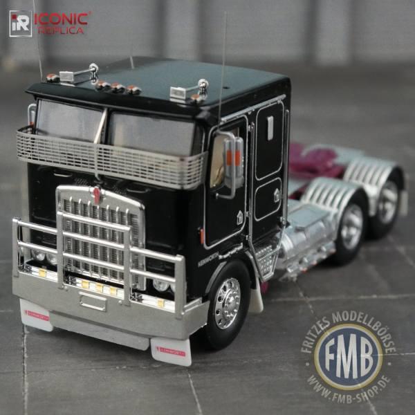 Iconic Replicas - Kenworth K100G 6x4 3achs Zugmaschine - schwarz - AUS -