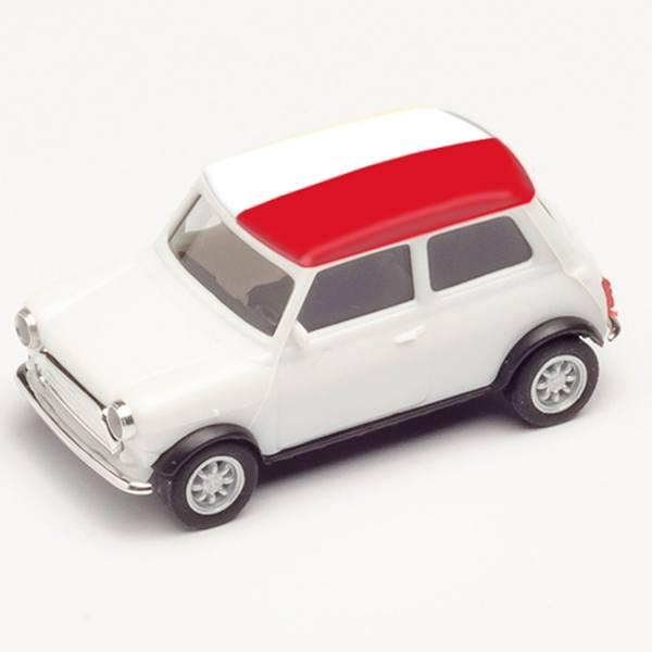 """420693 - Herpa - Mini Cooper, weiß """"EM 2021 - Polen"""""""