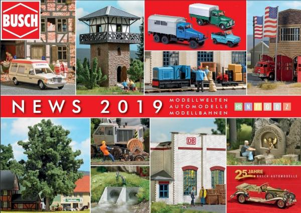 999904 - Busch - Neuheitenprospekt 2019