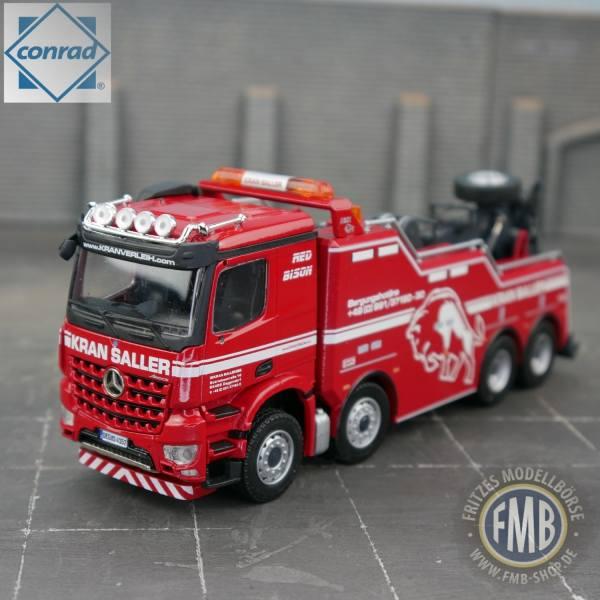 78198/0 - Conrad - Mercedes-Benz Arocs 4achs Bergefahrzeug EMPL Bison - Kran Saller -