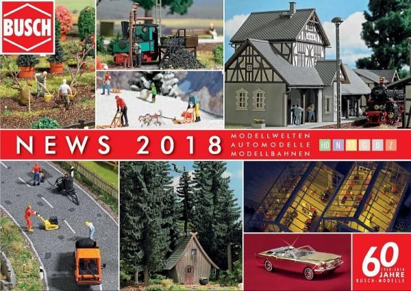 999903 - Busch - Neuheitenprospekt 2018
