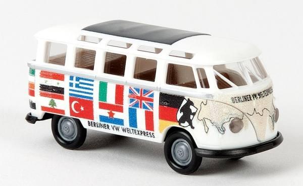 31837 - Brekina - VW T1b Samba Bus -Berliner Weltexpress-