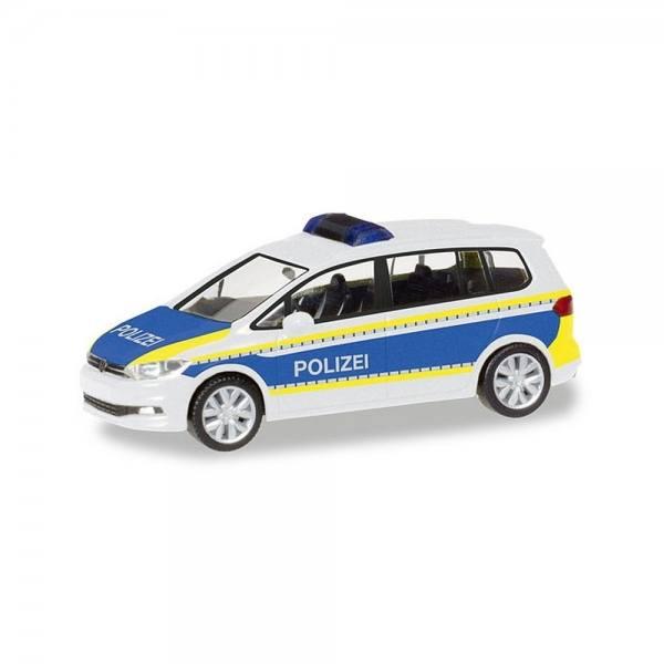 """093576 - Herpa - VW Touran Funkstreifenwagen """"Polizei Brandenburg"""""""