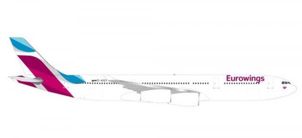 531566 - Herpa - Eurowings  Airbus A340-300 - 1:500