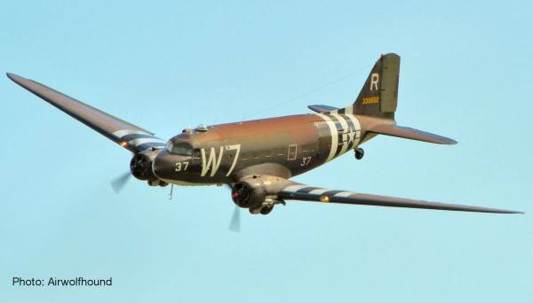 612296 - Herpa - US Air Forces  Douglas C-47A Skytrain - 37th Troop Carrier Squadron