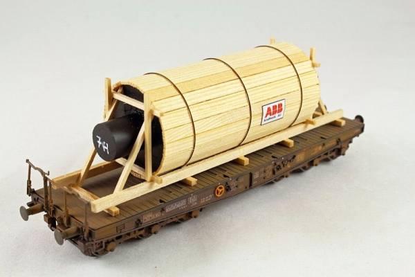 H01022 - Bauer - Schredderwalze - 125mm lang