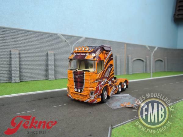 70810 - Tekno - Volvo FH04 GL XL 3achs Zugmaschine - Guldager -