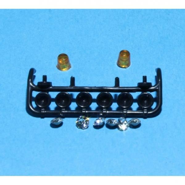 79872 - Tekno Parts - Lampenbügel Trux 6 Lampen und 2 Rundumleuchten