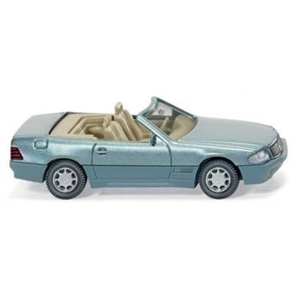 014203 - Wiking - Mercedes-Benz 500 SL (R129) Cabrio offen, beryll metallic