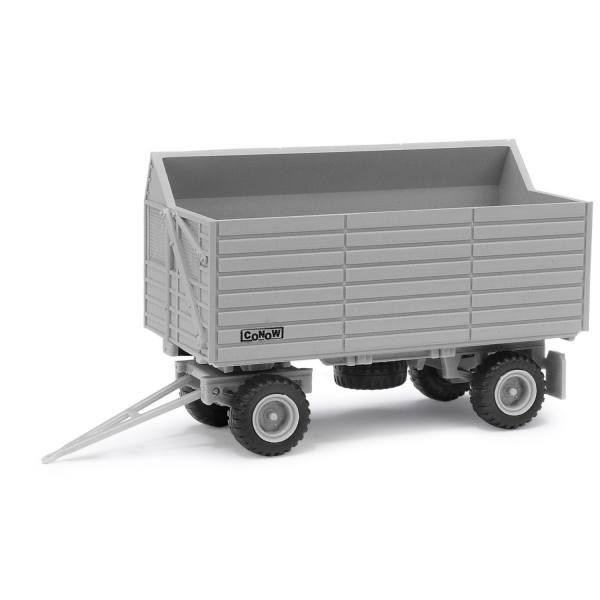 95034 - Busch - Conow HW 80.11 SHA Schwerhäcksel-Anhänger, grau - DDR