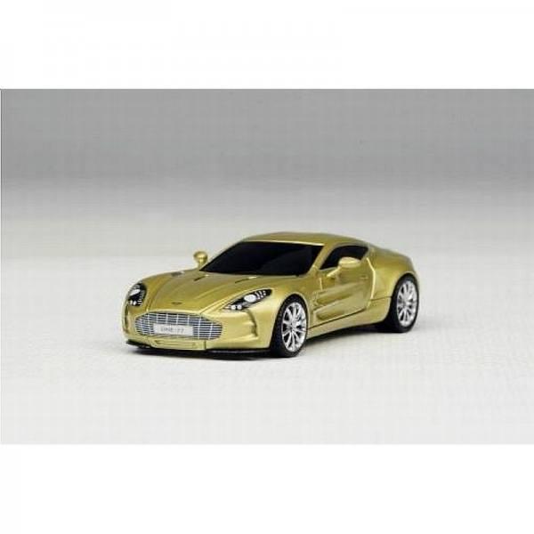 H0-09 - AvanStyle - Aston Martin One:77 Supersportwagen -Champagner Gold-