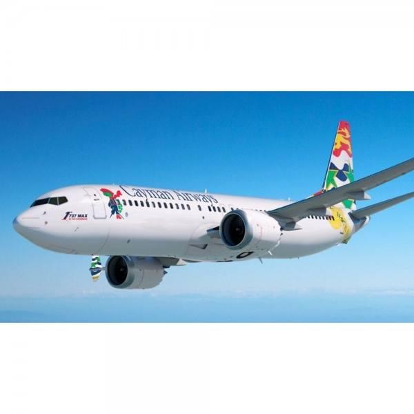 534024 - Herpa - Cayman Airways Boeing 737 Max8 - VP-CIW -