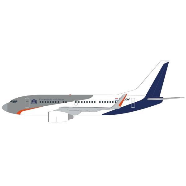 533973 - Herpa - Netherlands Government Boeing 737-700BBJ - PH-GOV -