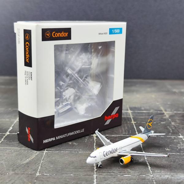 534307 - Herpa - Condor Airbus A320 - new 2019 colors - D-AICC -