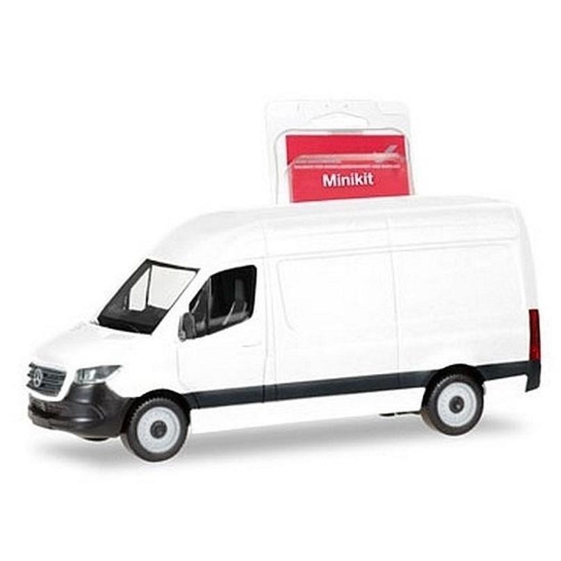 weiß 1:87 NEU ... Mercedes-Benz Sprinter ´18 Fahrtec RTW herpa 013710 MiniKit