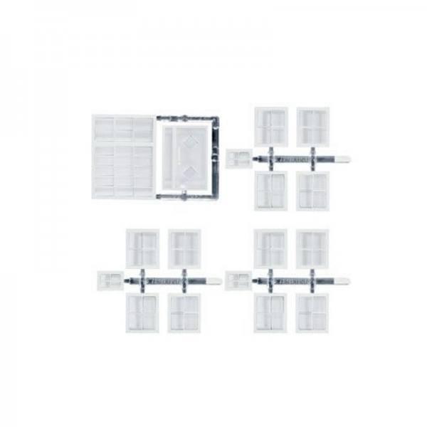 053228 - Herpa - Zurüstsatz Fenster/Türen für Bausatz Haus