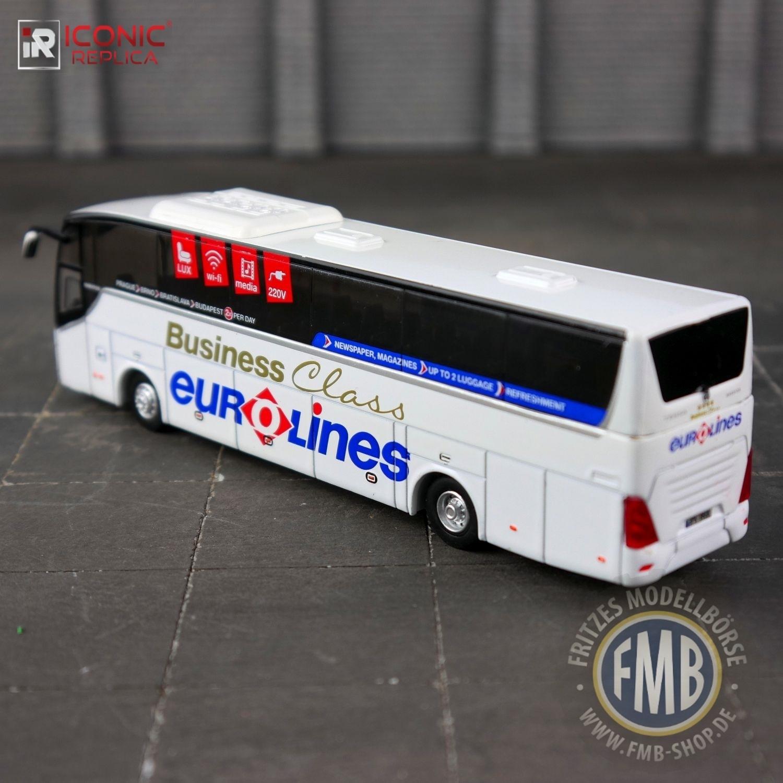 87-0100 Temsa Maraton Coach Bus Eurolines Iconic Replica