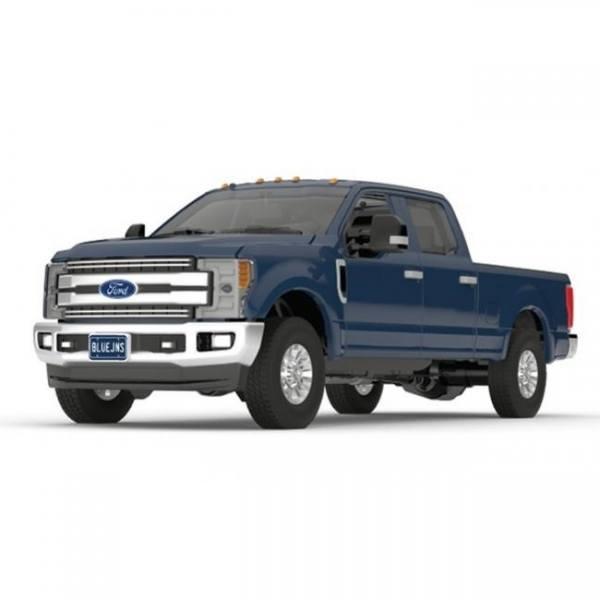 F5417 - First Gear - Ford F-250 Super Duty Pickup Truck, blau