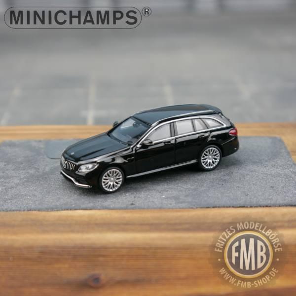 038114 - Minichamps - Mercedes-Benz AMG C 63 T (2019), schwarz metallic