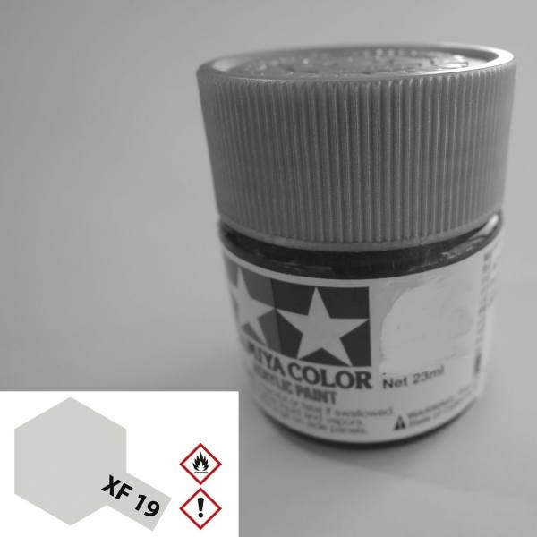 81011 - Tamiya - Acrylfarbe 23ml, chrom silber glänzend X-11