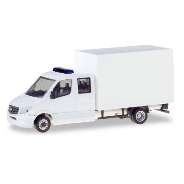 013666 - Herpa - MiniKit Mercedes-Benz Sprinter `13 Doka mit Koffer, weiß