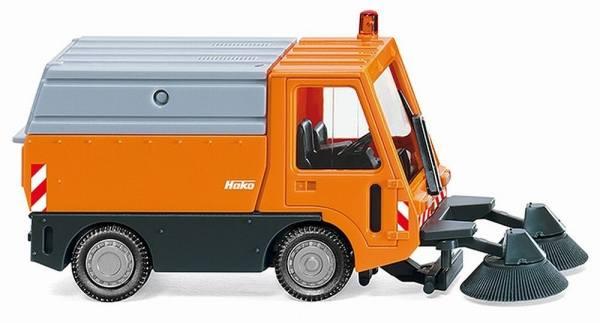 065704 - Wiking - Hako Citymaster 1750 Kehrmaschine -kommunalorange-